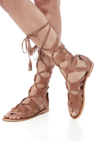 Free People Tan Gladiator Sandal