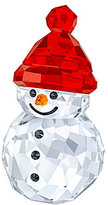 Swarovski Crystal Rocking Snowman Figurine