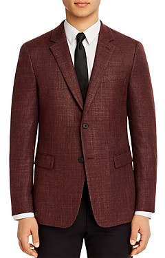 Theory Gansevoort Textured Basketweave Slim Fit Sport Coat