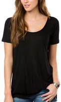O'Neill Women's Abbot Tee - Black Short Sleeve Shirts