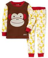 Skip Hop SKIP*HOP® ZOOJAMASTM Monkey Long-Sleeve Pajama in Brown