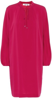 Diane von Furstenberg Jessica stretch-silk minidress