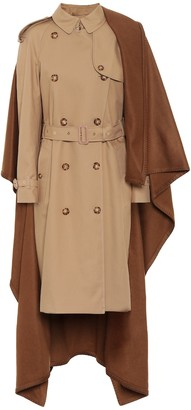 Burberry Cotton and cashmere coat