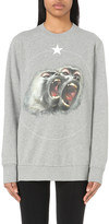 Givenchy Monkey-print cotton-jersey sweatshirt