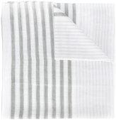 Les Copains geometric print scarf - women - Cotton/Linen/Flax/Cashmere/Modal - One Size
