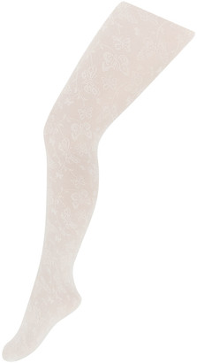 Monsoon Butterfly Lacey Tights Ivory