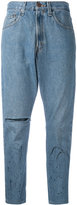 One Teaspoon cropped boyfriend jeans - women - Cotton - XS