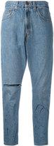 One Teaspoon cropped boyfriend jeans