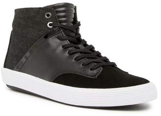 Joe's Jeans Joe Mac High-Top Leather & Suede Sneaker