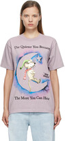 Thumbnail for your product : Online Ceramics Purple 'The More You Can Hear' T-Shirt