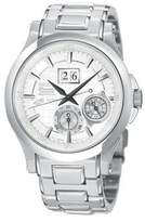 Seiko Men's Premier SNP001 Stainless-Steel Quartz Watch with Dial