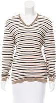 Malo Striped Knit Top