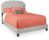 Genna Upholstered All-In-One Queen-Size Bed, Direct Ship
