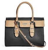 GUESS Women's Sereba Snake-Embossed Satchel