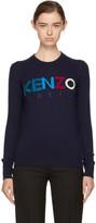 Kenzo Navy Logo Sweater
