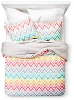 Xhilaration Printed Chevron Comforter Set