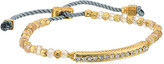 Cole Haan Bar Beaded Pull Tie Bracelet