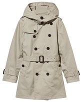 Burberry Beige Cotton Trench Coat