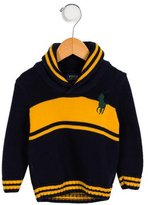 Polo Ralph Lauren Boys' Striped Logo Sweater