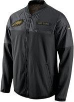 Nike Men's Philadelphia Eagles Salute to Service Hybrid Jacket