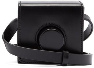 Lemaire Camera Mini Cross-body Leather Bag - Black