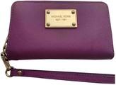 Michael Kors Purple Leather Wallets