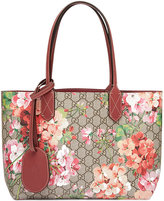 Gucci Reversible GG Blooms leather tote - women - Leather - One Size