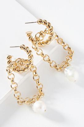 Anthropologie Dannijo Lena Drop Earrings By in Gold