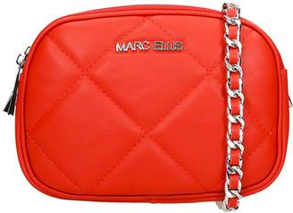 Marc Ellis Olivia Shoulder Bag In Red Leather
