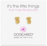 Dogeared Pineapple Stud Earrings