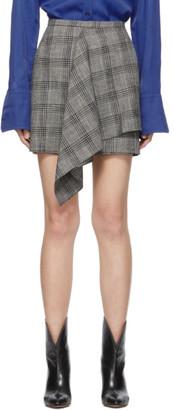 Isabel Marant Black and White Doleyli Miniskirt