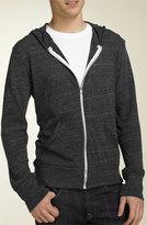 Alternative Men's Lightweight 'Eco-Heather' Zip Front Hoodie