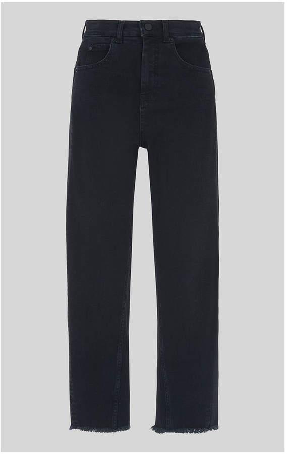 Whistles High Waist Barrel Leg Jean
