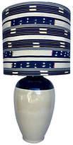 One Kings Lane Vintage,  Blue/cream/Shade, Blue/white, In Stock