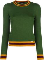 DSQUARED2 boy scout contrast knit