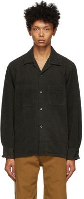 South2 West8 Green Corduroy Dobby Shirt