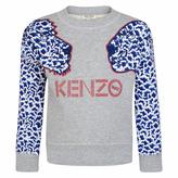 Kenzo Girls Grey Sweatshirt