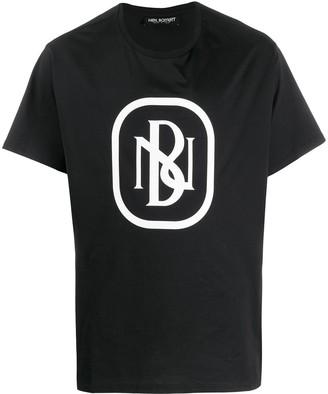 Neil Barrett NB logo print T-shirt