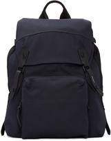 Lanvin Navy Canvas Backpack