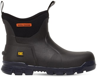 Heron Preston Cat Stormers 6 Inch Neoprene Rubber Boot