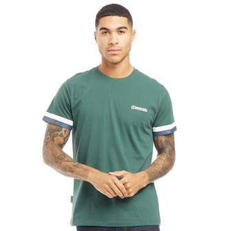 Lambretta Mens Crew Neck T-Shirt Green