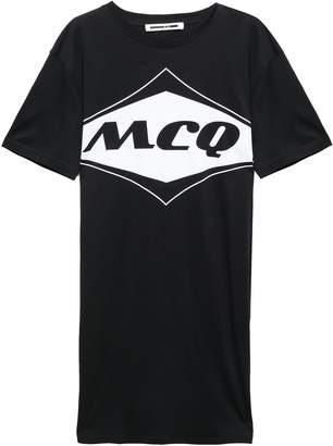 McQ Cotton-jersey Mini Dress