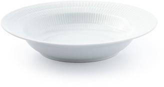Royal Copenhagen White Plain Rim Soup Bowl