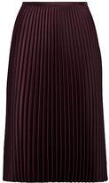 Ralph Lauren Pleated Crepe Midi Skirt