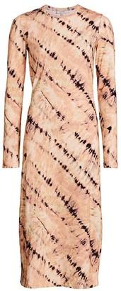 MUNTHE Mail Tie-Dye T-Shirt Dress