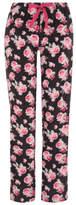 George Floral Print Fleece Pyjama Bottoms