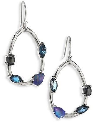 Ippolita Rock Candy Sterling Silver & Multi-Stone Pear-Shaped Drop Earrings
