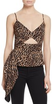 Mason Leopard Cutout Top - 100% Exclusive