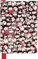 Lanvin Albert Faces Print Notebook