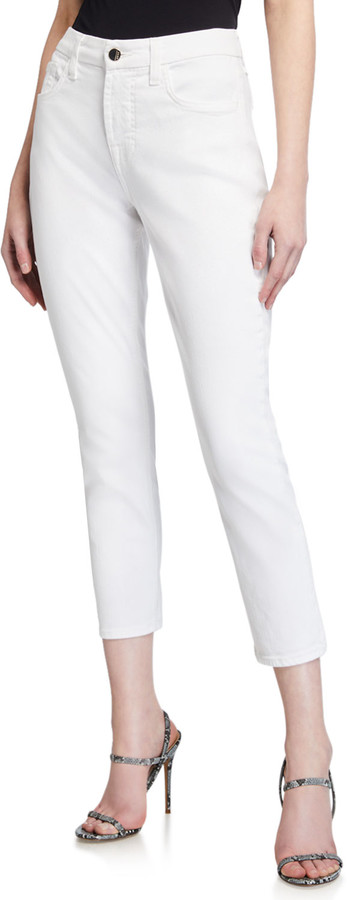 Thumbnail for your product : Jen7 Cropped Skinny Jeans